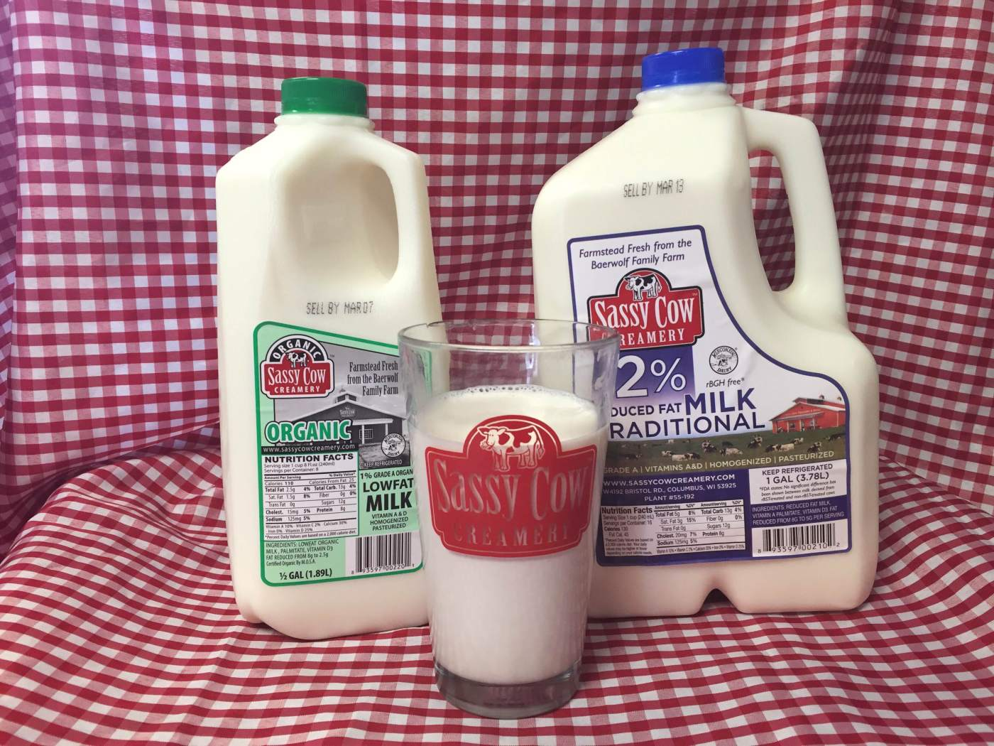 Sassy Cow milk